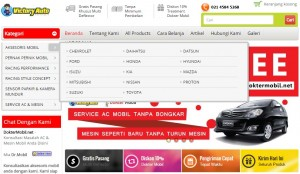 Homepage Indoneka